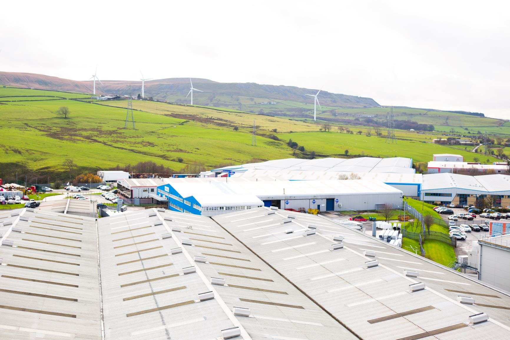 VEKA Site showing countryside