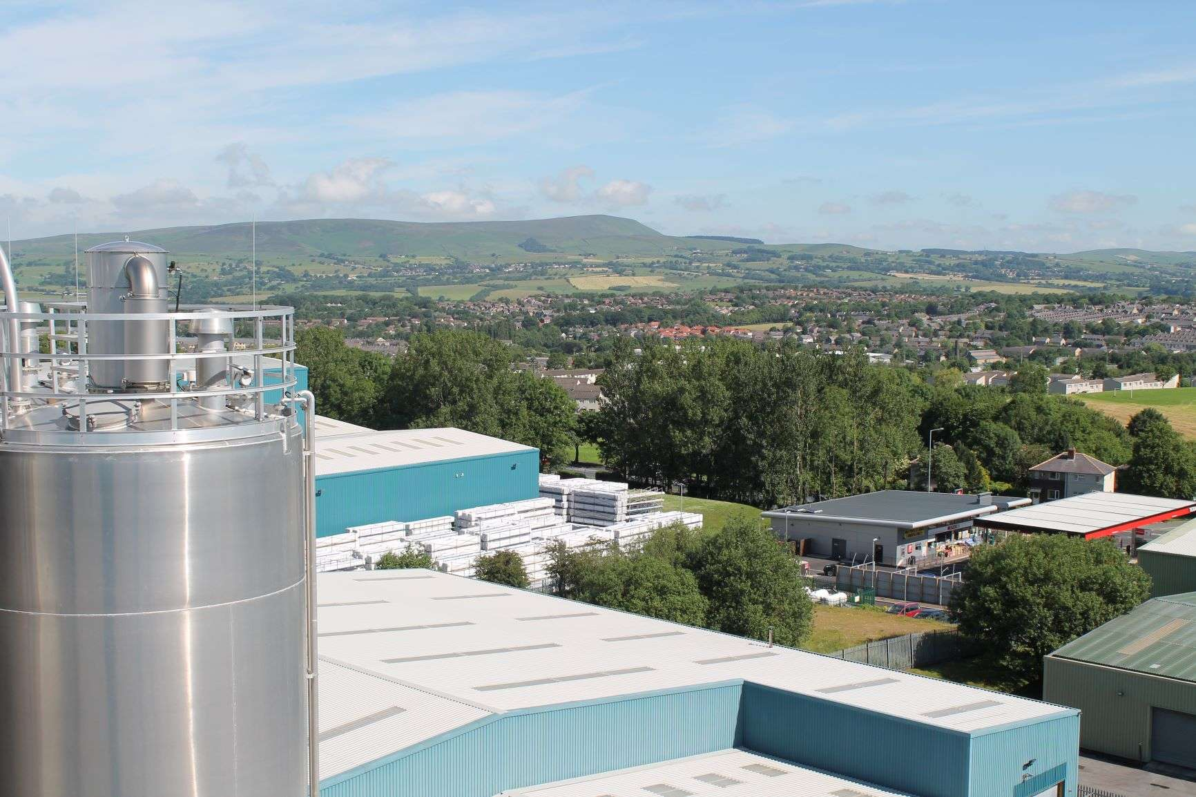 VEKA Site and Lancashire views