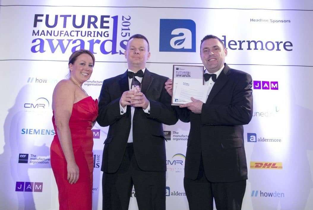 EEF Future Manufacturing Awards 2016 VEKA