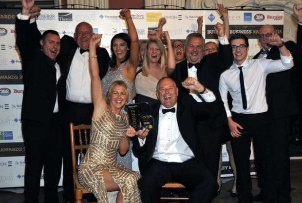 VEKA Timeline -- Burnley Business Award winners in 2017