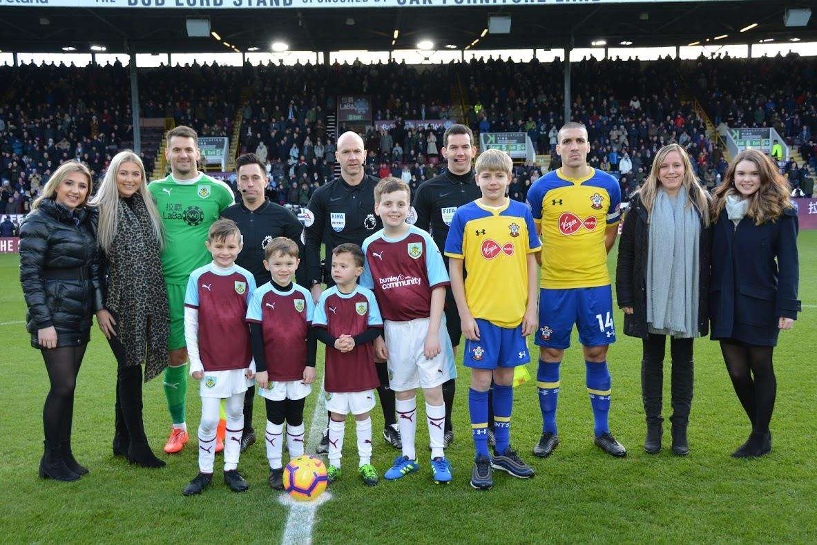 Burnley Football Club and the VEKA team