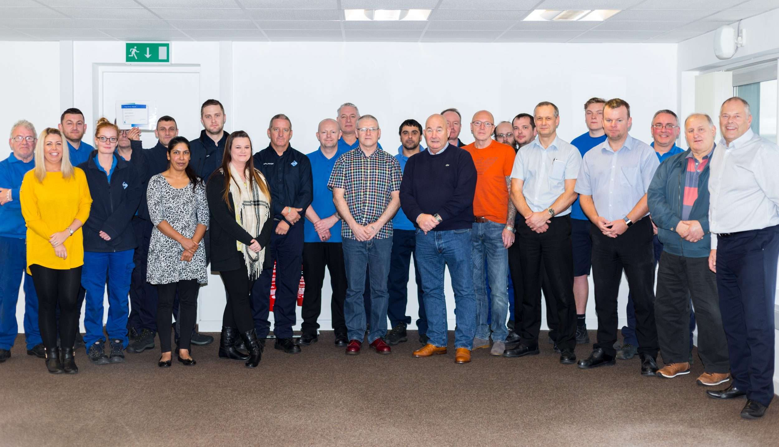 Long serving Veka employees