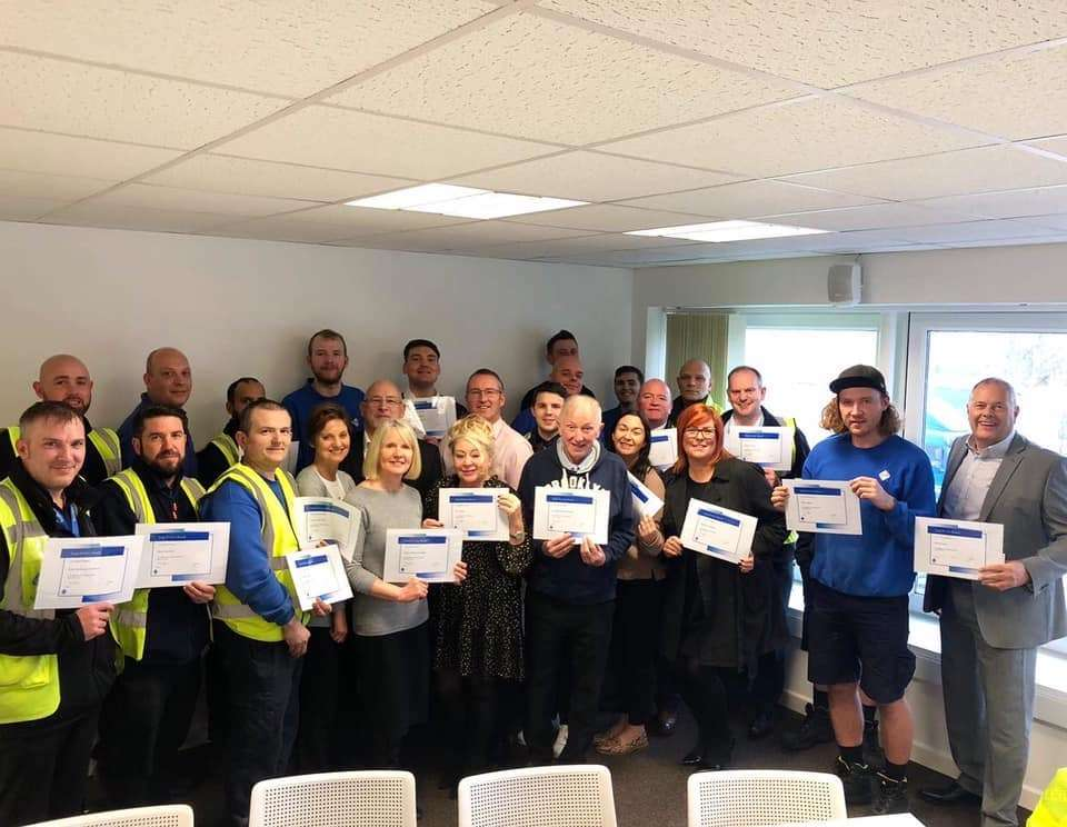 VEKA celebrates five centuries of staff service